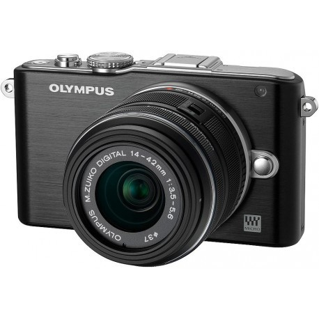 Olympus PEN Lite E-PL3 + 14-42 мм Kit черный