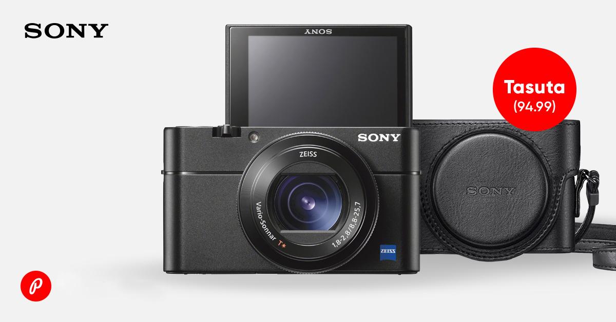 Mistahes Sony RX100 tippmudelite ostul kingituseks kaasa vutlar