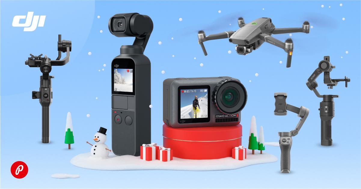 DJI talvine soodusmüük – valitud tooted on eriti hea jõuluhinnaga