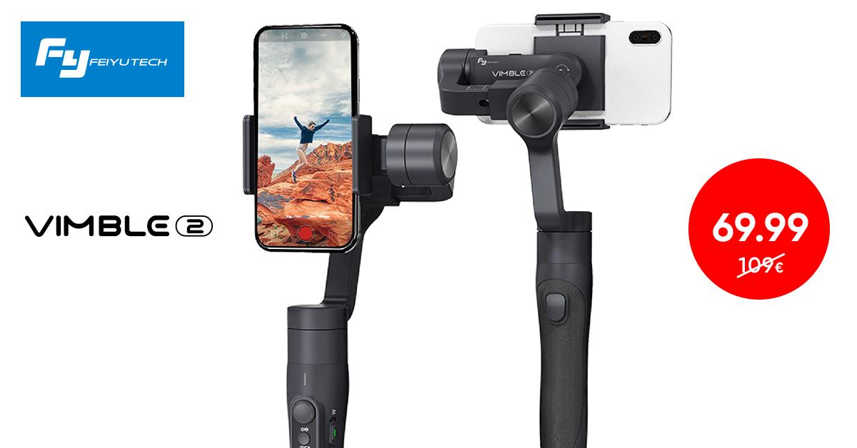 FeiyuTech Vimble 2 videostabilisaator nutitelefonile ainult 69,99€