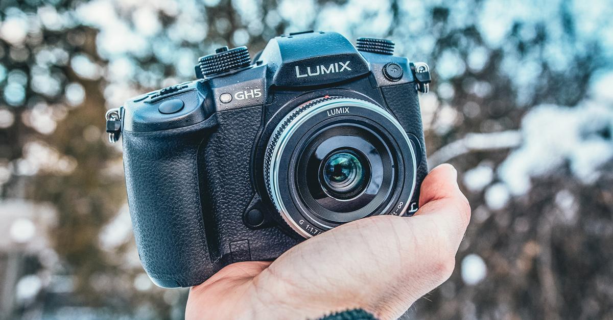Panasonic Lumix GH5 hübriidkaamera on vähemalt 500€ odavam