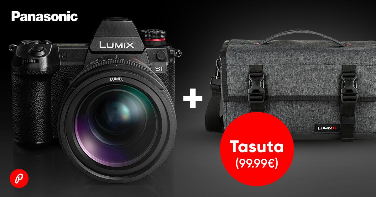 Panasonic Lumix S1, S1R või S1H täiskaadri ostul saad kaasa kingitus