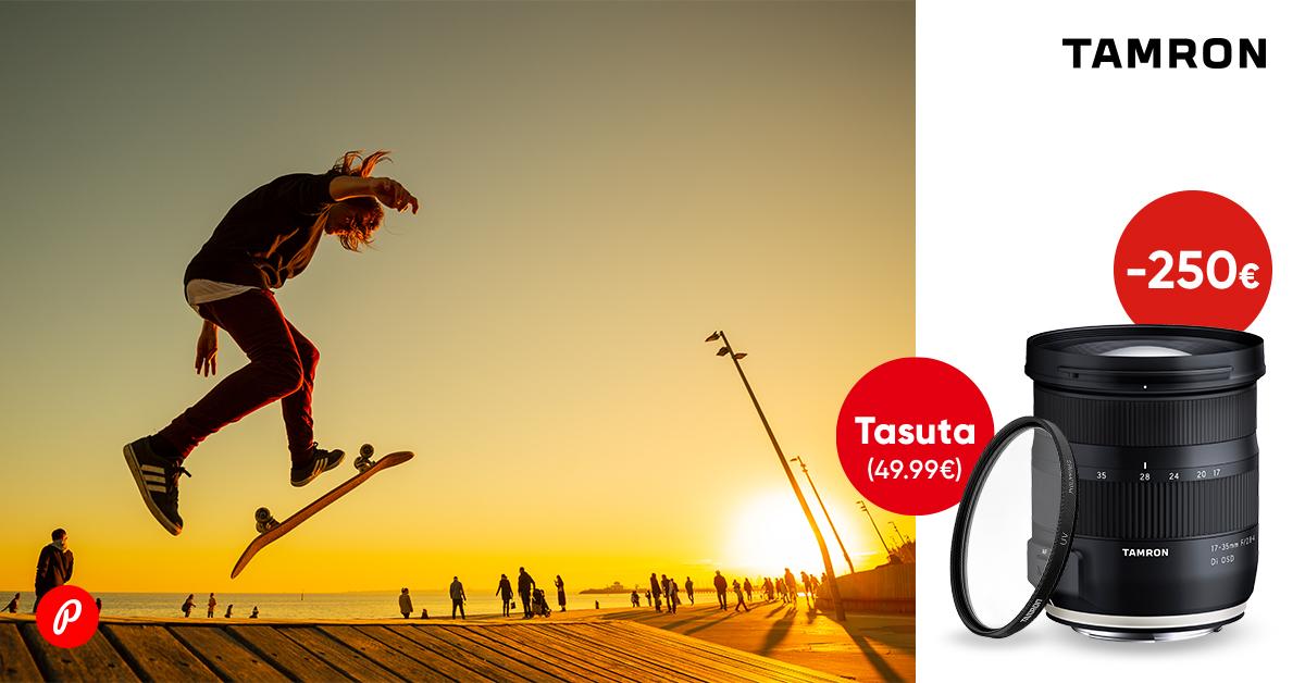 Tamron 17-35mm OSD on saadaval soodushinnaga + kingitus