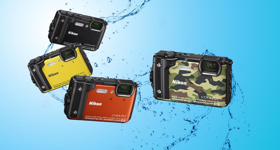 Veekindel Nikon Coolpix W300 kompaktkaamera on nüüd müügil soodushinnaga