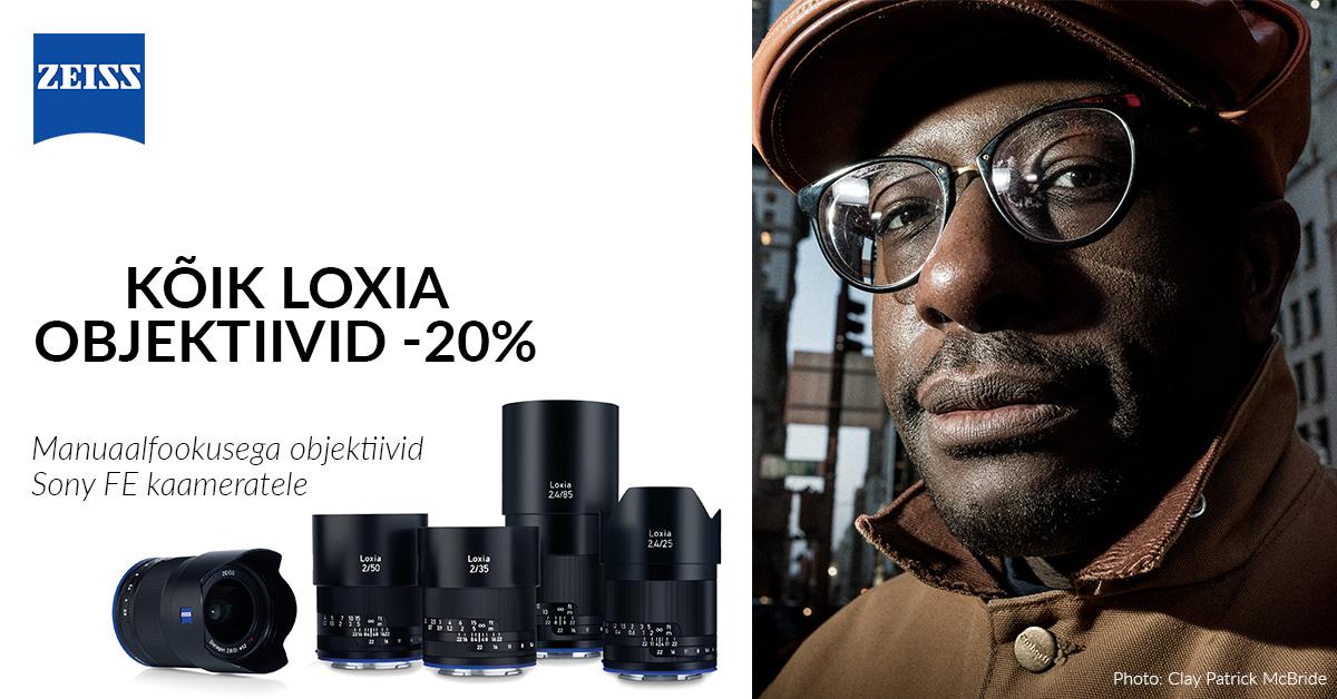 Zeiss Loxia profiobjektiivid on 20% soodsamad