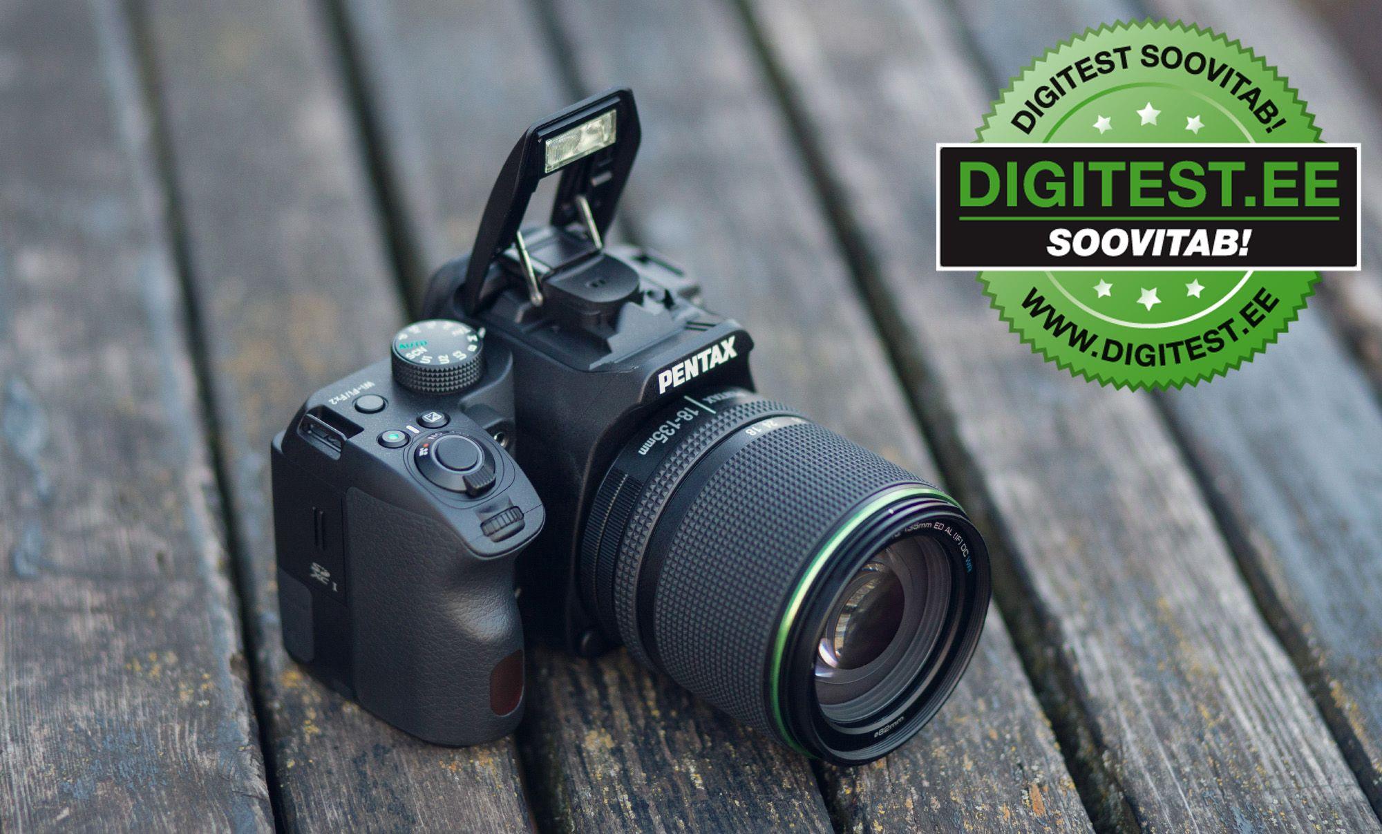Pentax K-70 peegelkaamera on 100-300€ soodsam