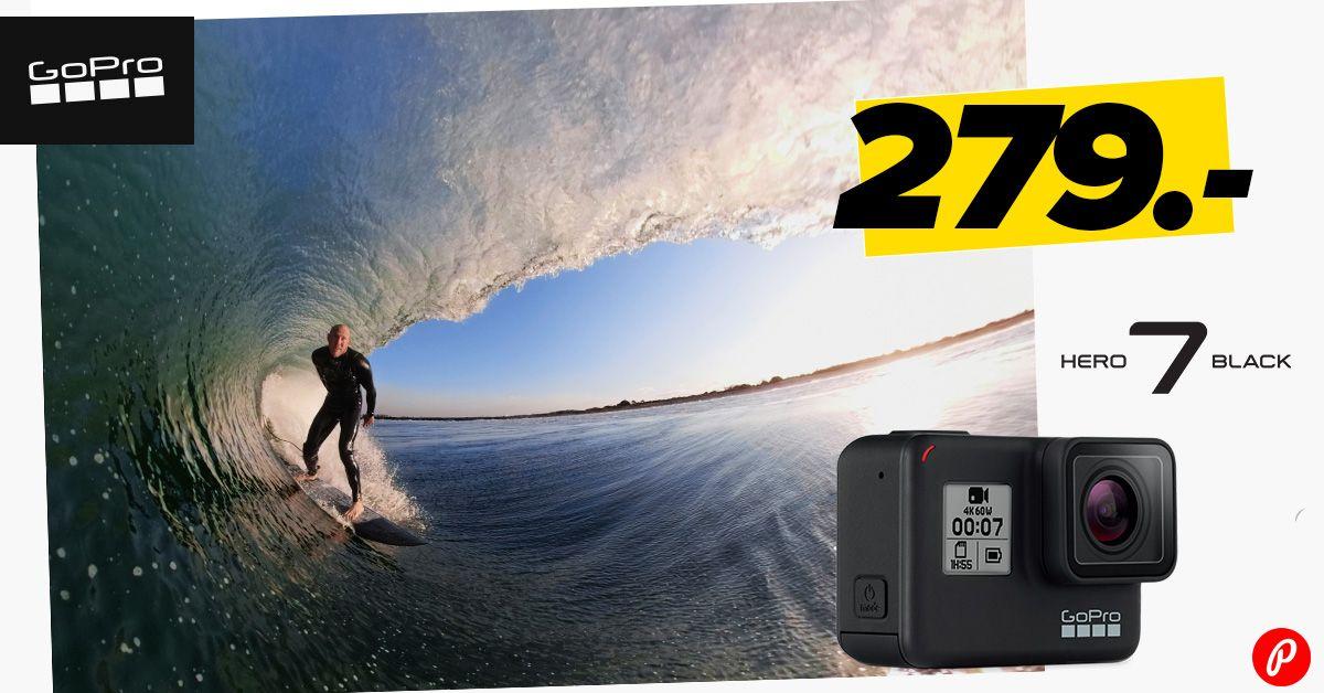 GoPro HERO7 Black on müügil suurepärase hinnaga