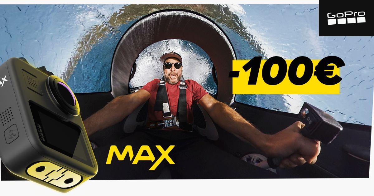 LENDA PEALE: 360° vaateid jäädvustav GoPro MAX on lausa 100€ soodsam
