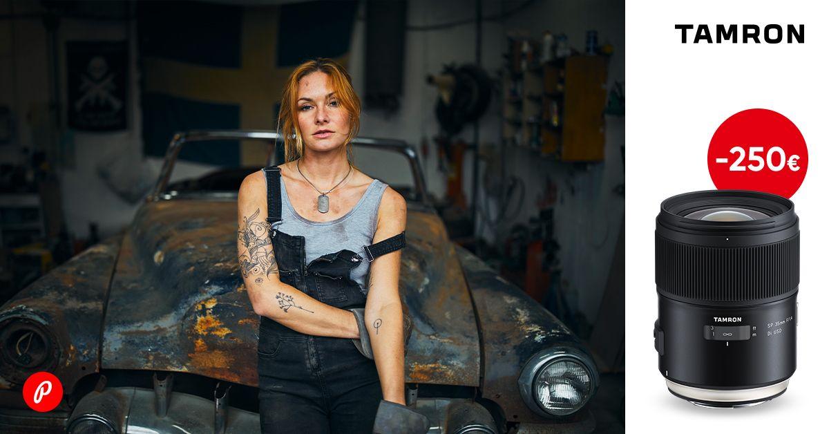 Unelmate Tamron portreeobjektiiv on -250€ ja kingiks UV filter