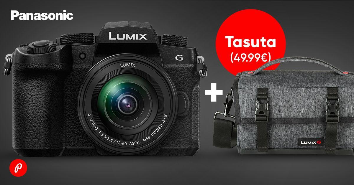 Panasonic Lumix G90 hübriidkaamera ostul saad väärt kingituse