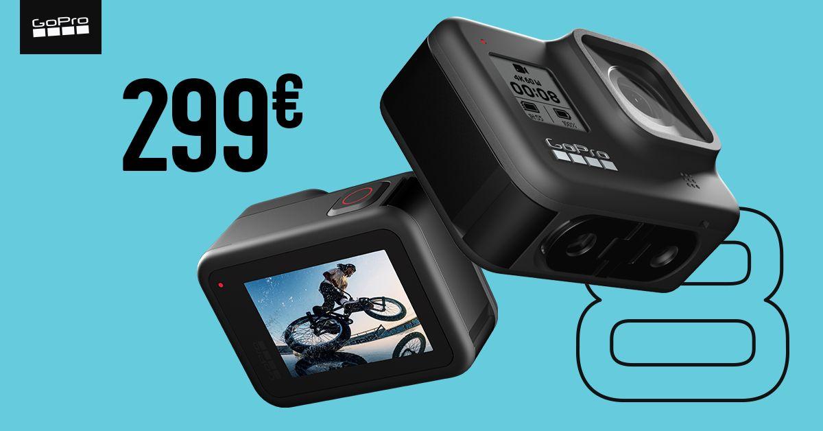 GoPro HERO8 Black kaamera on enneolematu soodushinnaga