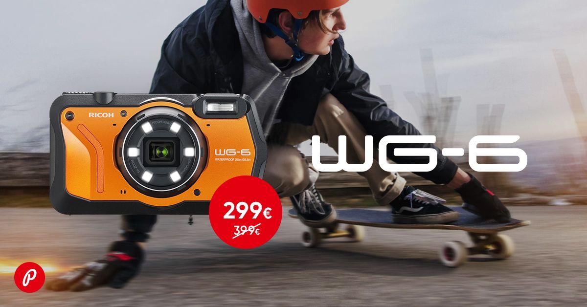 Purunematu Ricoh WG-6 kaamera on 100€ soodsam
