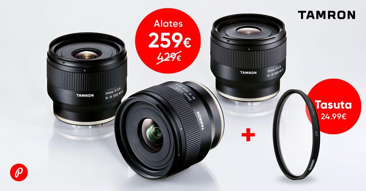 Tamron fiksobjektiivid Sony hübriidkaameratele on saadaval soodushinnaga + kingitus