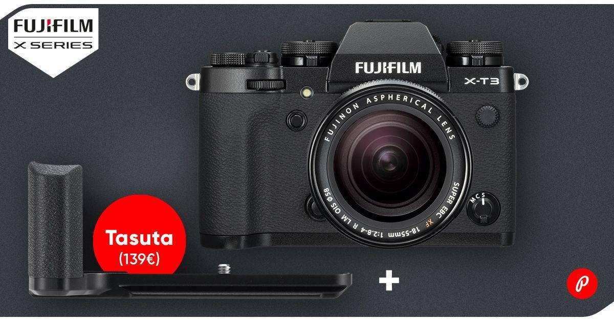 FUJIFILM X-T3  ostul saad kaasa funktsionaalse kingituse