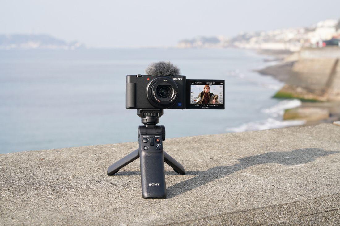 KOOS ON SOODSAM: Sony ZV-1 + käepide GP-VPT2BT komplekt -99€