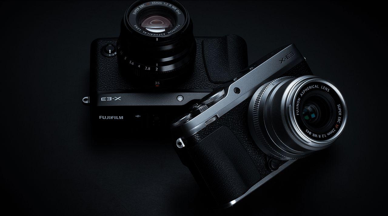 Retrodisainiga Fujifilm X-E3 hübriidkaamera on 200-500€ soodsam