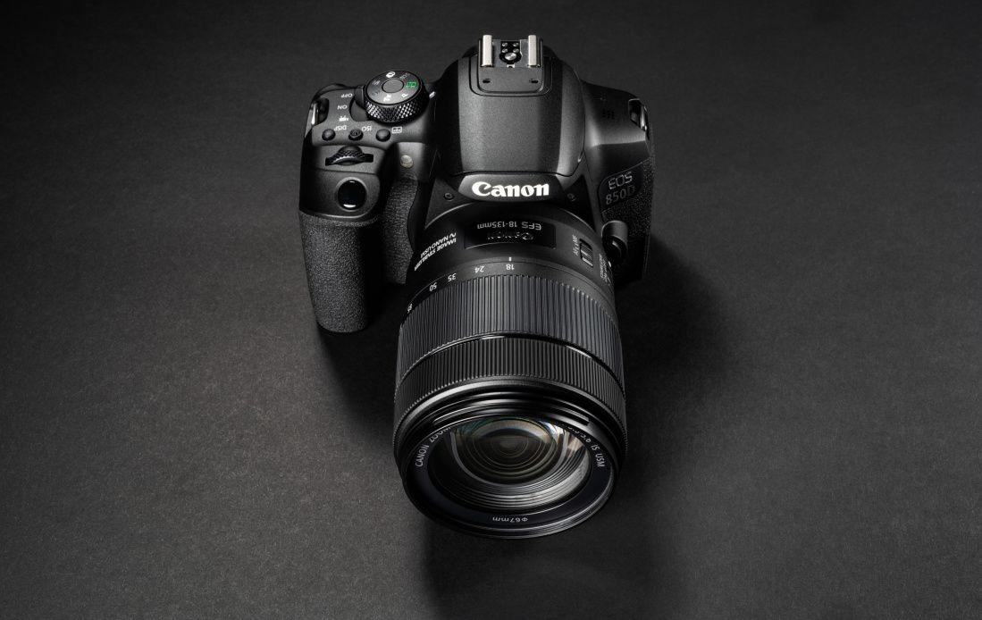 Canon EOS 850D peegelkaamera on 100-170€ soodsam