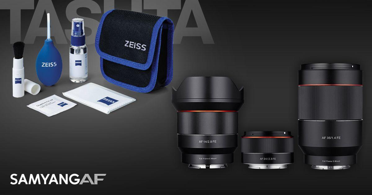 Valitud Samyang objektiiviga Sony hübriidkaameratele saad kaasa kingituse