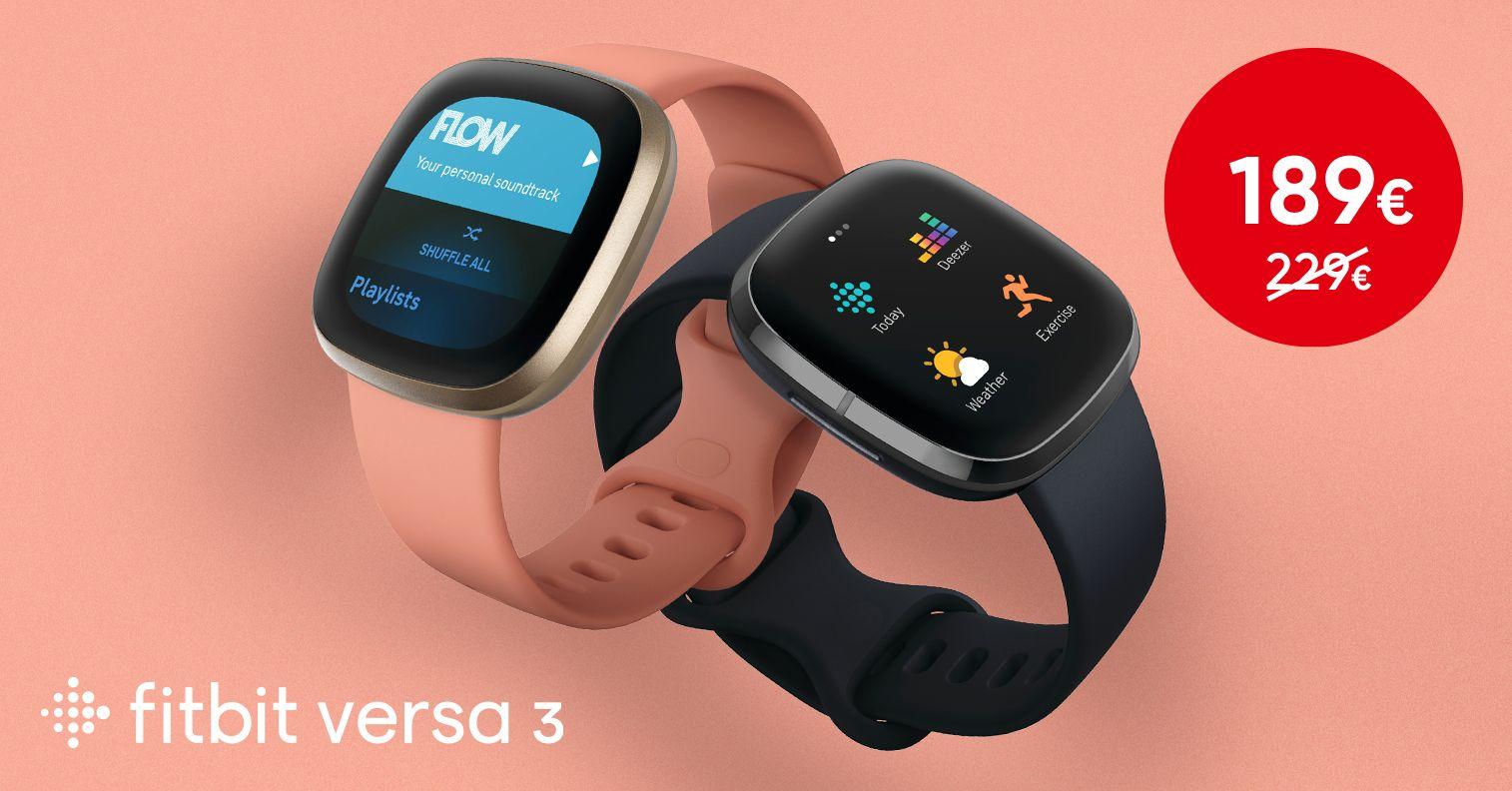 Kaunis ja võimekas Fitbit Versa 3 nutikell on suurepärase soodushinnaga