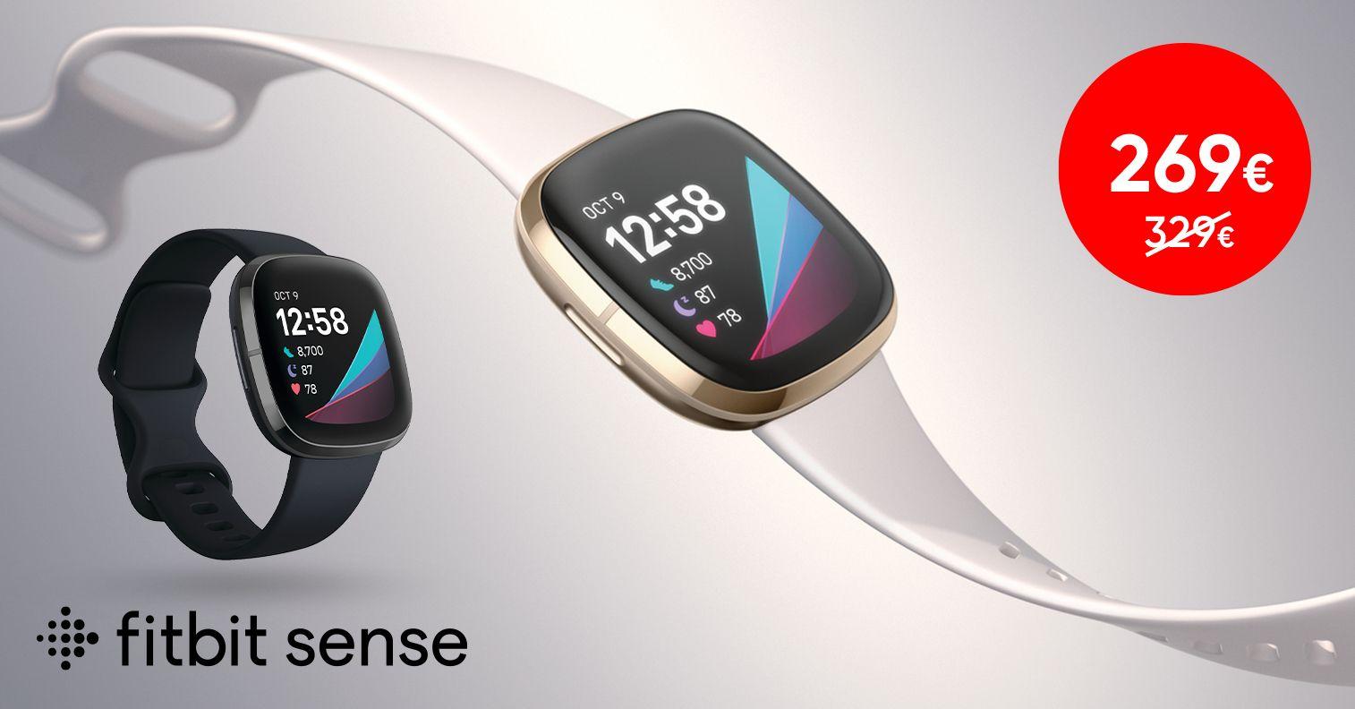 Võimekas Fitbit Sense nutikell on enneolematu soodushinnaga