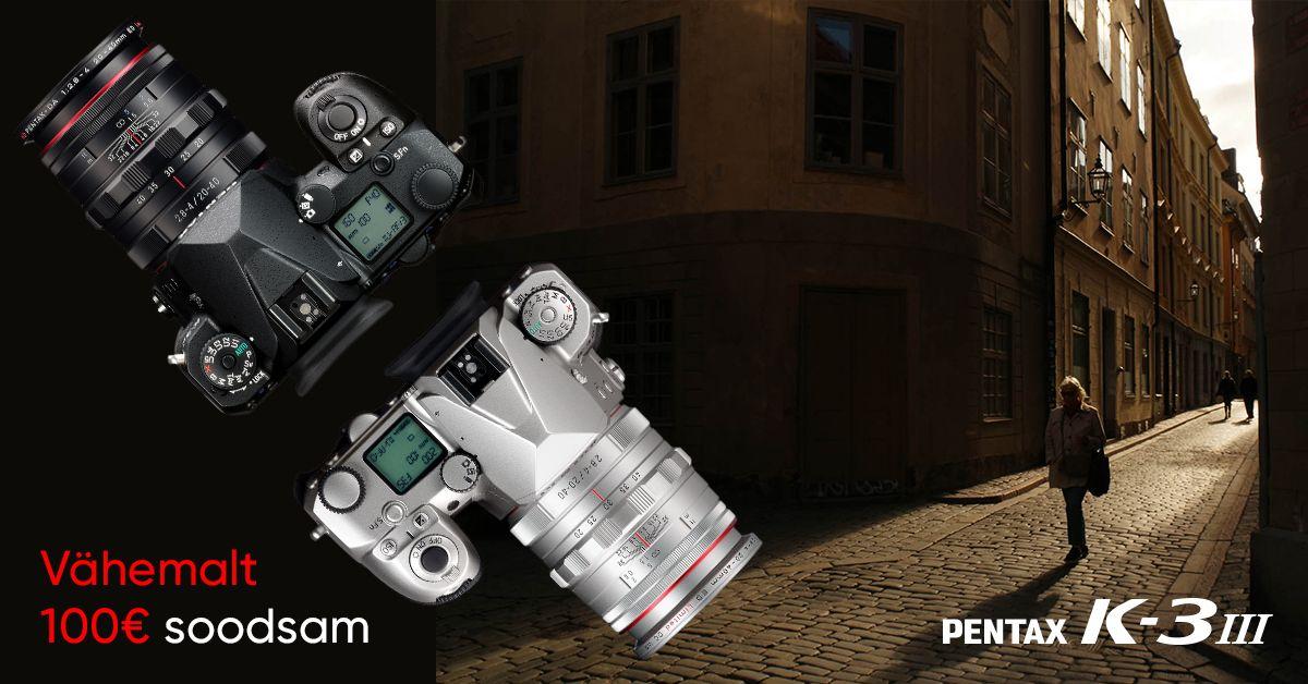 Saada enda vana digipeegel pensionile ja võta asemel Pentax K-3 Mark III