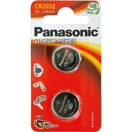 Panasonic батарейки CR2032/2B