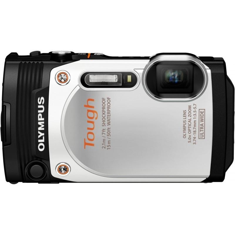 Olympus Stylus Tough TG-860, valge