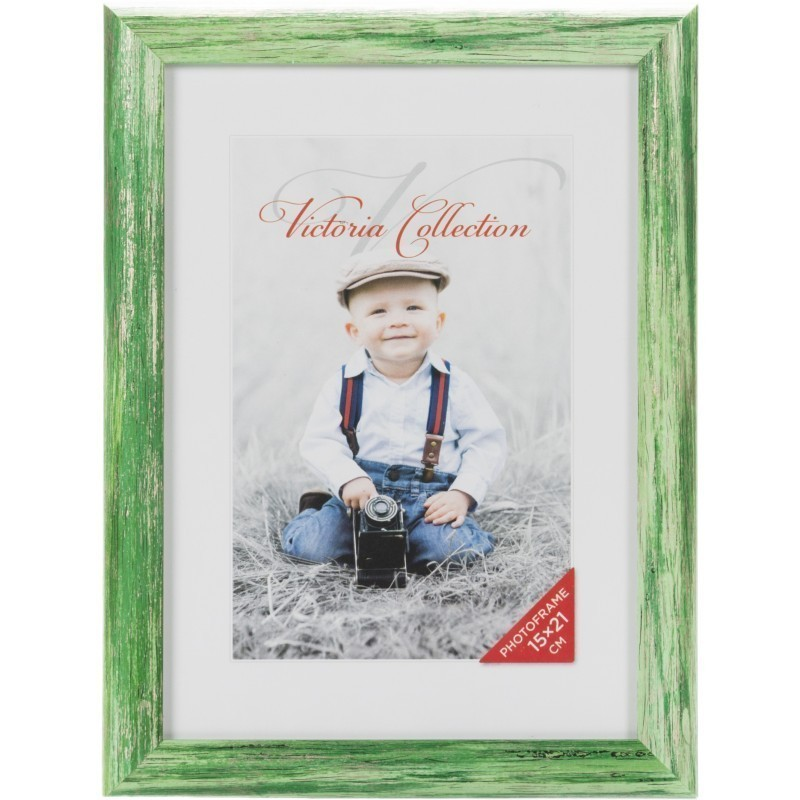 Photo frame Coral 15x21, green - Photo frames - Nordic Digital