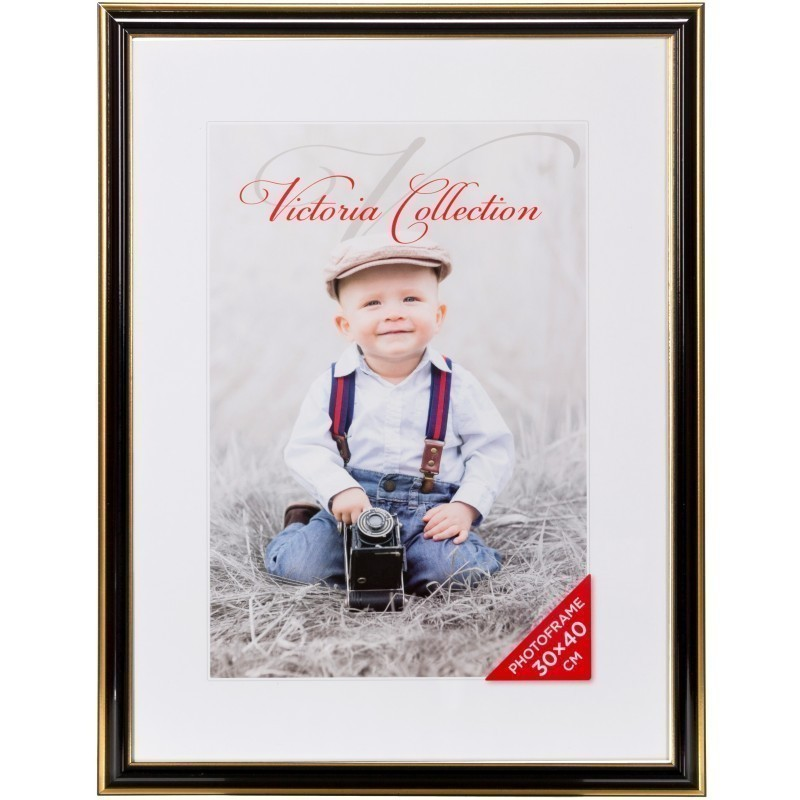 Photo frame Lord 30x40, black - Photo frames - Nordic Digital