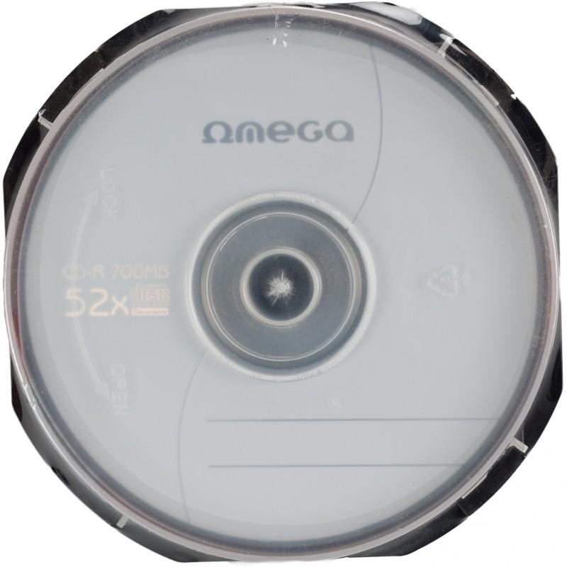 Omega CD-R 700MB 52x 10tk tornis