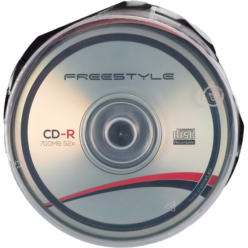 Omega Freestyle CD-R 700MB 52x 25tk tornis