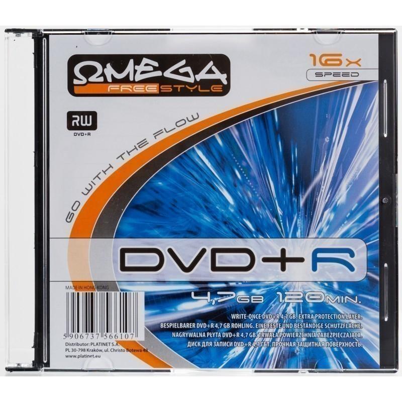 Omega Freestyle DVD+R 4,7GB 16x slim