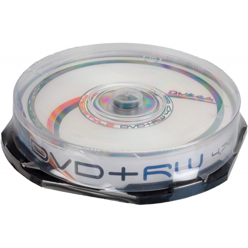 Omega Freestyle DVD+RW 4,7GB 4x 10gb spindle