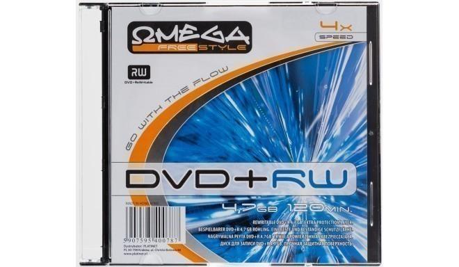 Omega Freestyle DVD+RW 4,7GB 4x karbis