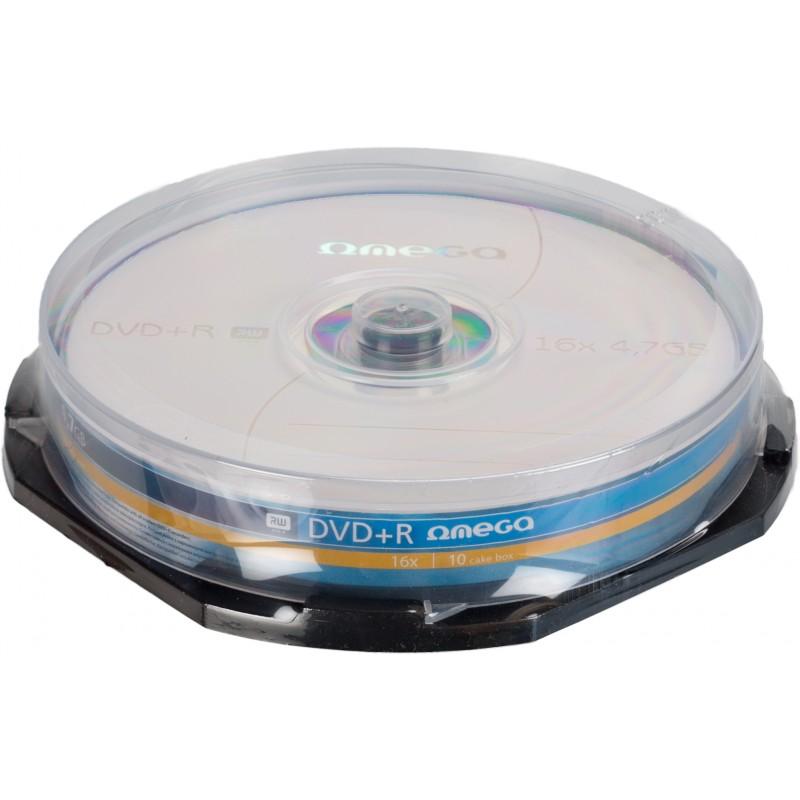 Omega DVD+R 4.7GB 16x 10gb spindle