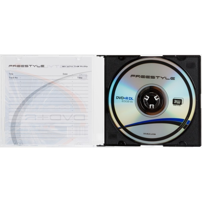 Omega Freestyle DVD+R DL Double Layer 8,5GB 8x karbis