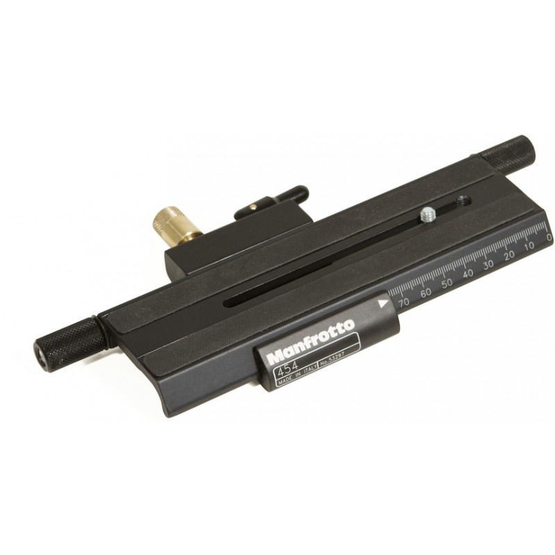 Manfrotto micropositioning sliding plate 454