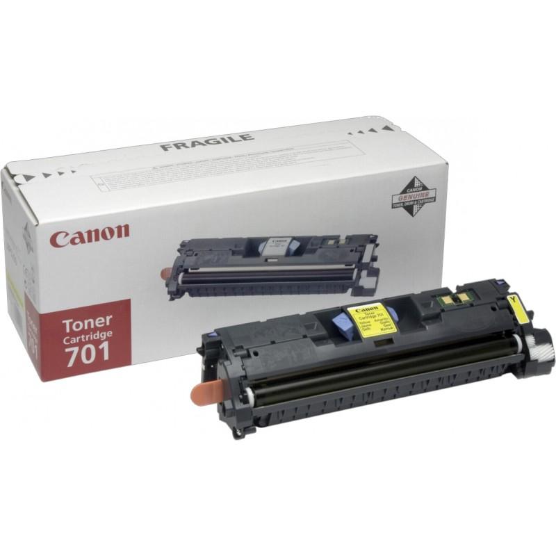 Canon tooner 701, kollane (9284A003)