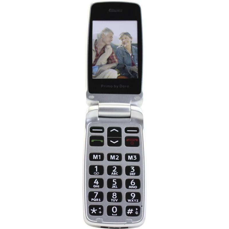 doro primo 405 grey cellphones nordic digital. Black Bedroom Furniture Sets. Home Design Ideas