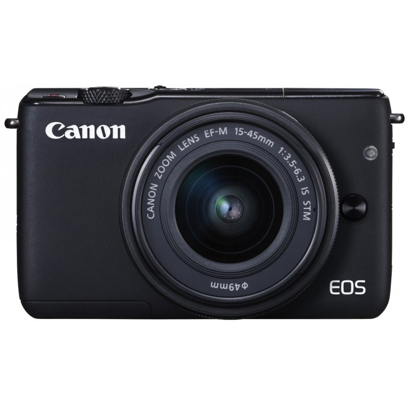 Canon EOS M10 + 15-45мм IS STM Kit, черный