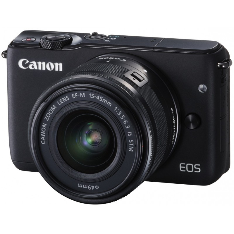 Canon EOS M10 + 15-45mm IS STM Kit, must