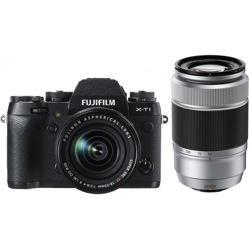Fujifilm X-T1 + 18-55mm Kit + XC 50-230mm, must