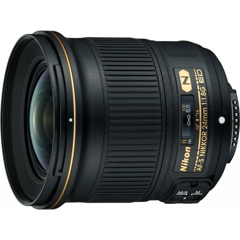 Nikon AF-S Nikkor 24mm f/1.8G ED objektiiv