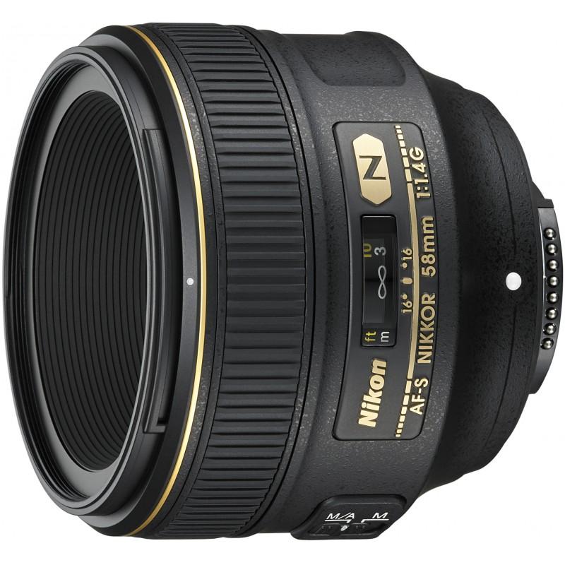 Nikon AF-S Nikkor 58mm f/1.4G objektiiv