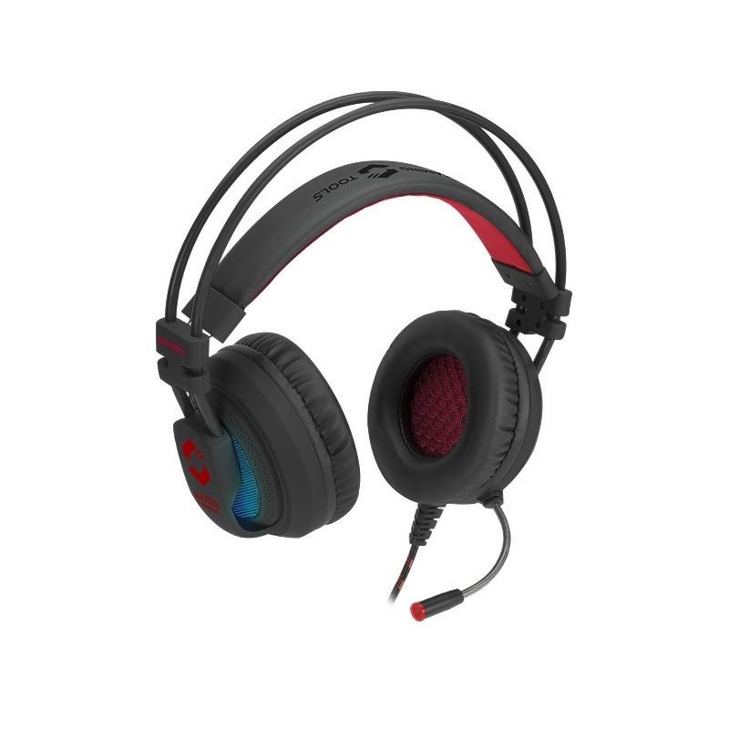 Speedlink kõrvaklapid + mikrofon Maxter 7.1, must (SL-860003-BK)