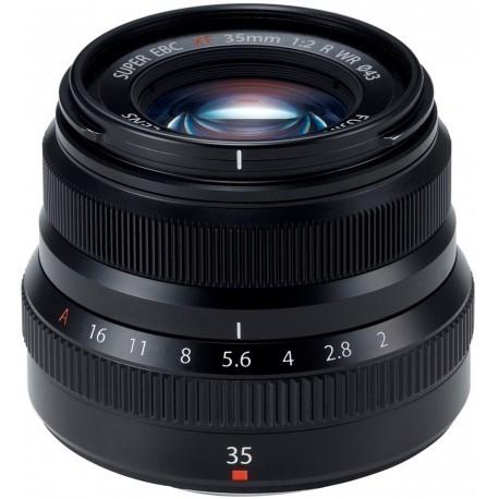 Fujinon XF 35мм f/2 R WR объектив, черный