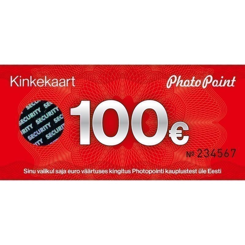 Kinkekaart 100 eurot