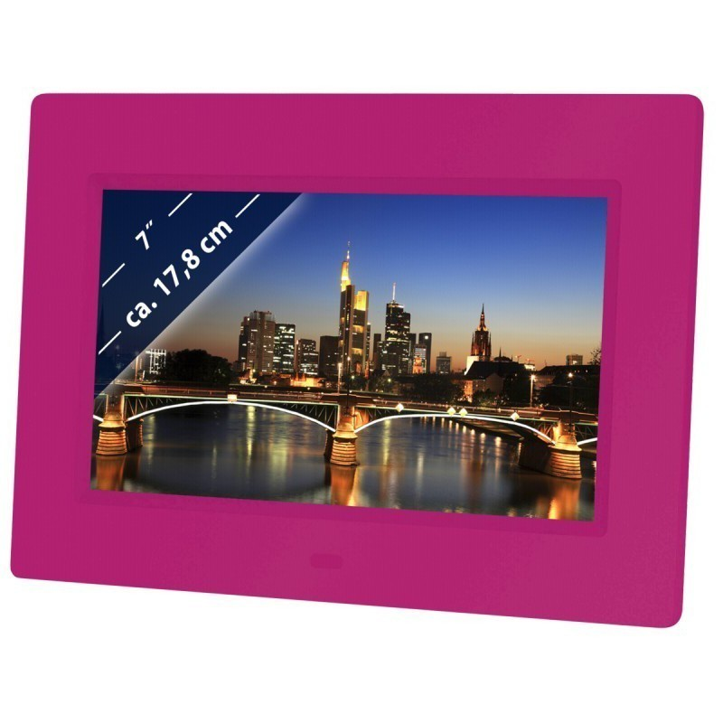 "Braun digital photo frame 709 7"", pink"