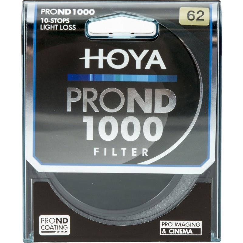 Hoya filter neutraalhall ND1000 Pro 62mm