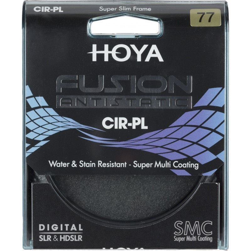 Hoya filter circular polarizer Fusion Antistatic 77mm
